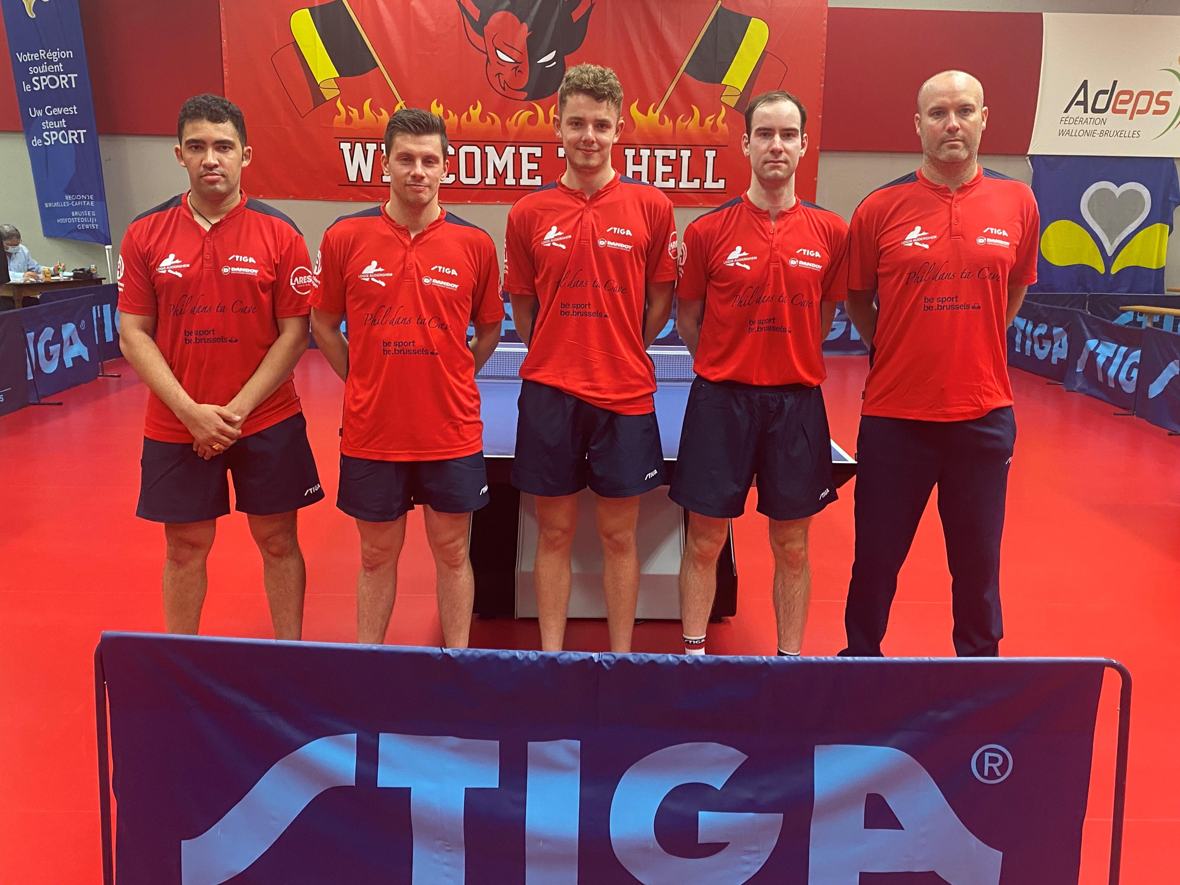 Equipe de superdivision 2021-2022 (Stiga)